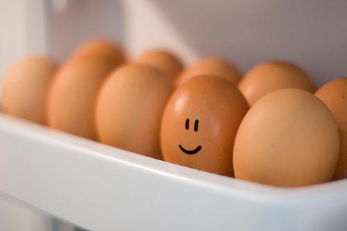 Con una oscura de barril, cualquiera es un huevo feliz...
