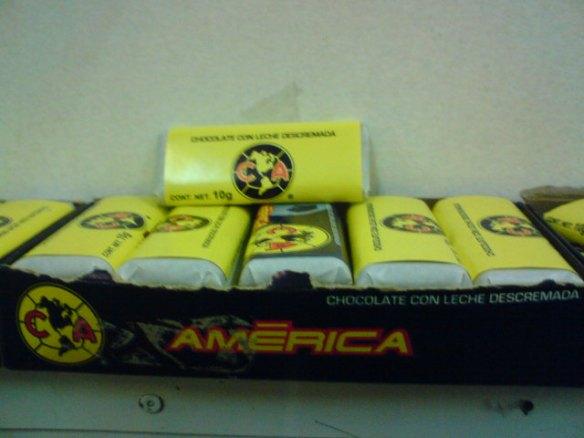 """Chocolates del """"America"""", señores..."""