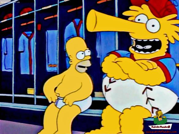 Ese mero... al lado del Homero...