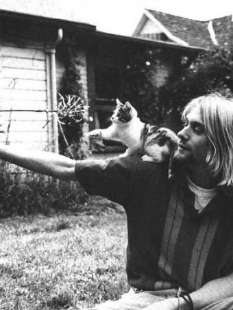 Cobain... y yo.